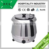 stainless steel electric soup warmer