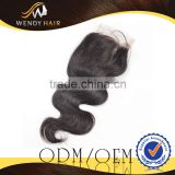 2014 No MOQ Sell Crazy Appealing 6A Grade 100% High Quality Peruvian Virgin Hair Lace Closure