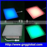 Outdoor RGB full color high quality stainless steel led brick light waterproof brick wall light led