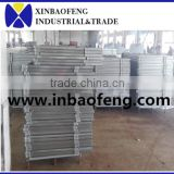 galvanized steel pipe horse fence for farm equipment