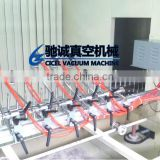 Shoes materials UV coating machine