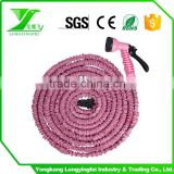 Extend For 3 Times Magical 50FT Expandable Retractable Flexible Garden Hose Pipe, Car Washing Vehicle Cleaning Hose