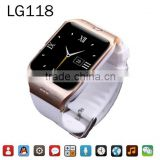 LG118 Bluetooth Smart Watch WristWatch Support Camera For All Android Smart Moblie Phone PK A9 U80 GT08 DZ09 GV18
