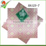 pink aso oke headtie nigeria women small headtie guangzhou wholesale