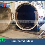 Bathroom laminated window glass types with factory price
