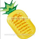 New design hot sale yellow giant inflatable pineapple pool float lounge                                                                                                         Supplier's Choice