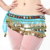 218pcs Coins Hip Scarf Belly Dance Coin Scarf                                                                         Quality Choice