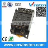 PTF14A-E General Purpose 14 PIN 300VAC 12A Connecting Electric Contact Relay Socket with CE