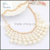 Hot New Fashion Punk Charm Dangle Pearl Beads Bubble Pendant Necklace