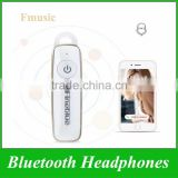 New Arrival Fineblue Fmusic Bluetooth Wireless Control Stereo In-ear Headset Earphone Headphones Ear Hook For iPhone Android