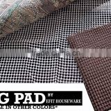 High Quality Non-Slip Area Rug Pads - Fully Washable, Protect Floors While Securing Rug and Making Vacuuming Easier