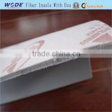 Fiber shoe insole board compound EVA