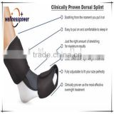 2016 Hot sale Dorsal Night Splint for Plantar Fasciitis, Achilles Tendinitis, Drop Foot
