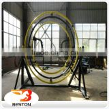 factory direct price amusement equipment human gyroscope 3d space ring with CE BV TUV approved