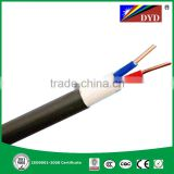 PVC Insulated & Sheathed Two Cores Flexible H05VV-F Round Power Cable