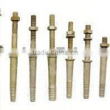 power fittings spindles for pin insulators
