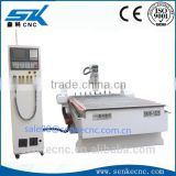 8 tools cnc router machine with atc engraving/carving/cutting equipment/Syntec control/Hiwin rail/Servo motor