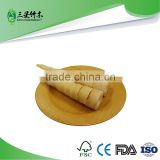 cheap bulk bamboo plates serving dishes