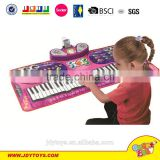 Hot sale electronic piano play mat for kids,baby piano music mat,musical instrument toy