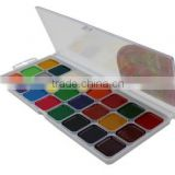 Watercolor set, watercolour, water color, 24 colors with or without brush