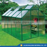 Aluminum Frame Greenhouse Glass Greenhouse Prefabricated Garden Greenhouses Greenhouse Design