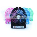 fan shenzhen rechargeable fan 1200mAh electric portable usb mini fan mist cooling brushless motor micro industrial fan batteries
