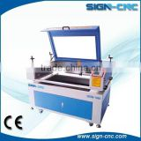 Low cost CNC Laser Engraving Machine For Glass printing, water cooling cnc laser cutting machine