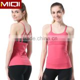 Latest Sexy Design Women Workout Clothing Custom Brazilian Sports Wear Fitness Tank Top For Yoga