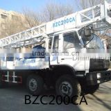 BZC200CA truck mounted drilling rig for sale