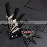 "NEW BLACK handle 3""+4""+5""+6""+Peeler+ knife Holder White Ceramic knives Set Cutlery Chef"