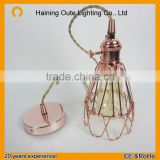 Decorative hanging pendant light/vintage pendant lamp /cage pendant light                                                                         Quality Choice