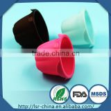 high temperature resistant silicone cup cake mould that make of food grade liquid silicone