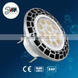 patent product dimmable aluminum body 10w 220v gu10 gu53 AR111 led lighting with CE and RoHS