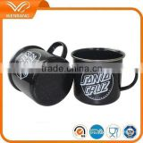 hot 11oz,12oz top grade quality sublimation enamel coffee mug for wholesale