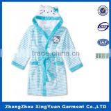 China Supplier animal pattern baby bath robe wholesale