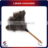 China OEM manufacture ostrich feathe magic duster ,factory supplier magic household ostrich feather duster,fiber cleaning duster