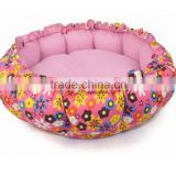Precision Pet Bumper Donut Dog Bed cozy mat cheap and fancy pet production