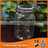 4pc supper brightness LED glass outdoor solar mason jar wholesale
