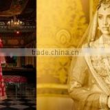 Grandiose Red Australian Silk Designer Lehenga Choli/Online shopping for Indian lengha choli