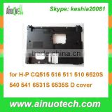 Mainboard shell laptop basic cover for HP CQ515 516 511 510 6520S 540 541 6531S 6535S bottom case A/B/C/D cover hinge plam rest