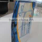 2015 Factory price 5g/10g empty plastic tobacco bag with a viewing window/Tobacco backaging bags in stock