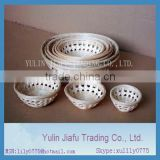 "Wholesale chinese pure handmade weaving round size 4""6""8""10""11""12"" bamboo basket"