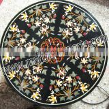 Marble Inlay Table Tops, Stone Inlay Dining Table Top, Italian Marble Inlay Table Tops