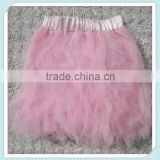 Wholesale Colorful Skirt Tutu For Girls Ballet Tutu Baby Tutu Dress Kids Chiffon Puffy Skirts Petal Tutu Skirt Gauze Pink Tutu