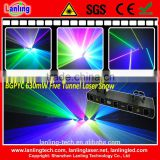 Five Tunnel Laser light Show System for disco club