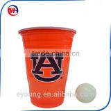 Wholesale Disposable Plastic Party Red Cups Solo Cups With White Inner