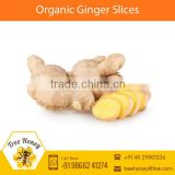 Hygienically Processed Organic Ginger Slice with Longer Shelf Life