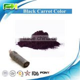Natural Pigment Black Carrot Color