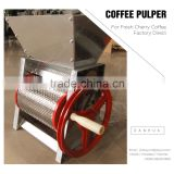 INquiry about Easy-Using Manual Coffee Bean Pulping Machine In Stock