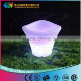 Illumianted waterproof IP65 led rechargeable li battery operated led ice bucket/wine cooler
